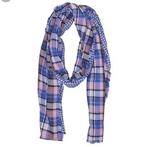 Dual-print Cotton Scarf by American Colors 😍